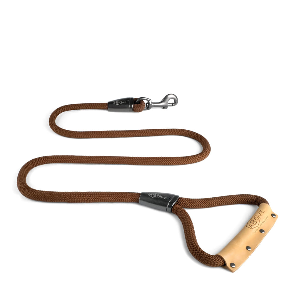 ABOVE LEASH / BROWN