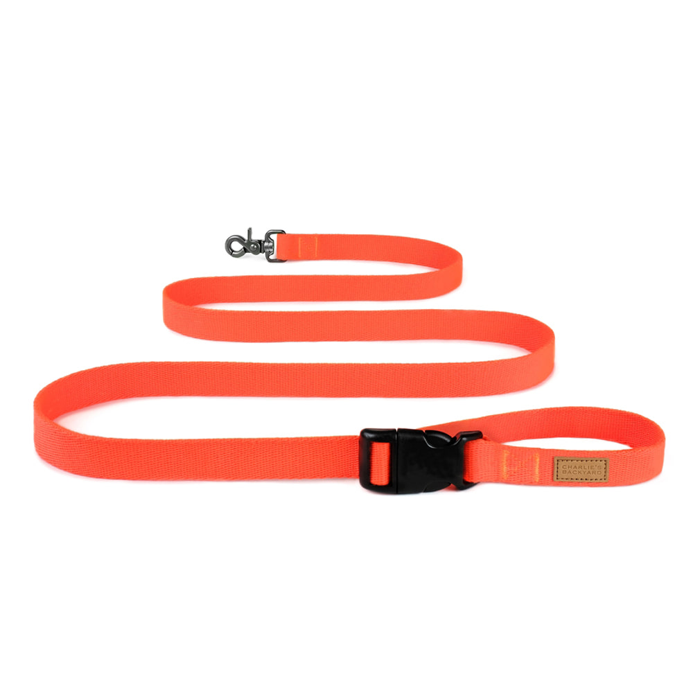 FIELD LEASH / NEON ORANGE