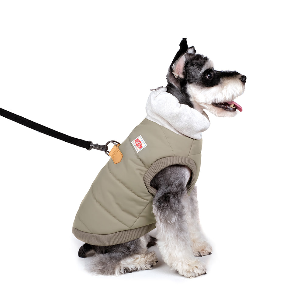 WARM-UP HARNESS JACKET / BEIGE