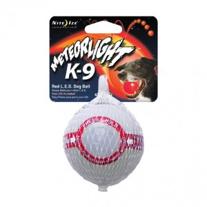 METEORLIGHT K-9 BALL / RED