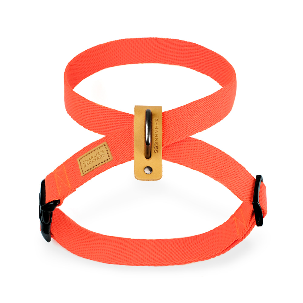 FIELD X-HARNESS / NEON ORANGE