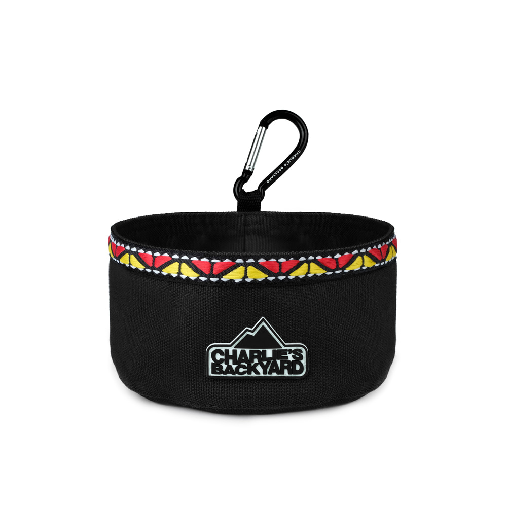OUTDOOR FOOD BOWL / BLACK