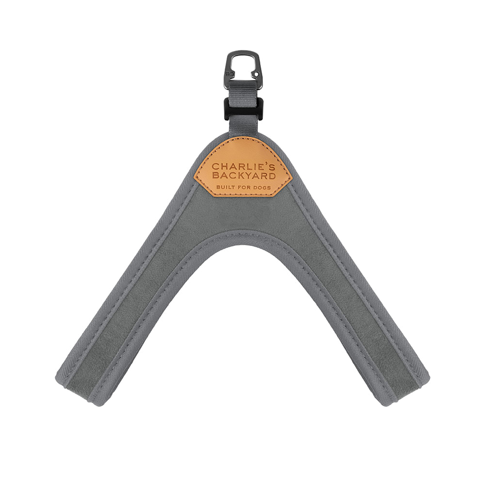 BUCKLE UP EASY HARNESS / GRAY