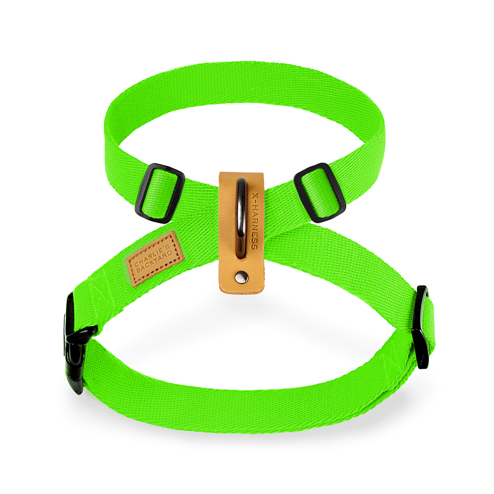 FIELD X-HARNESS / NEON GREEN