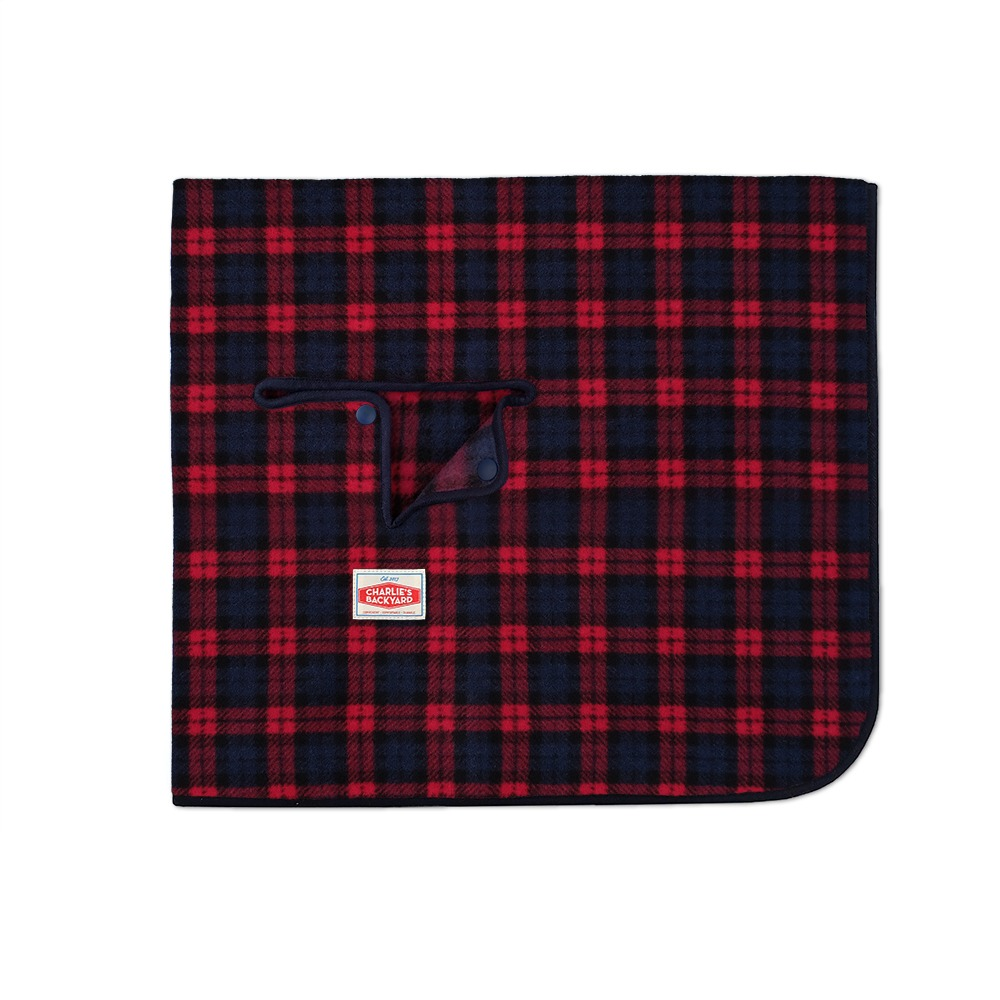 CAMP BLANKET / RED