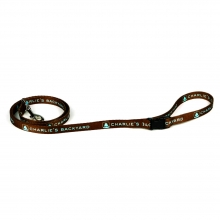 WALKER LEASH / BROWN / S