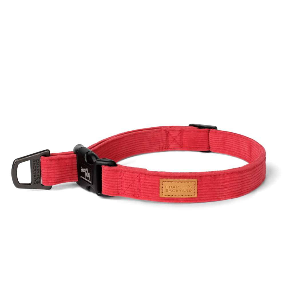 FIELD COLLAR / RED