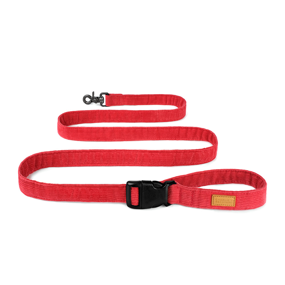 FIELD LEASH / RED